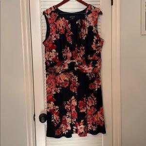 Dresses & Skirts - Navy Floral Dress